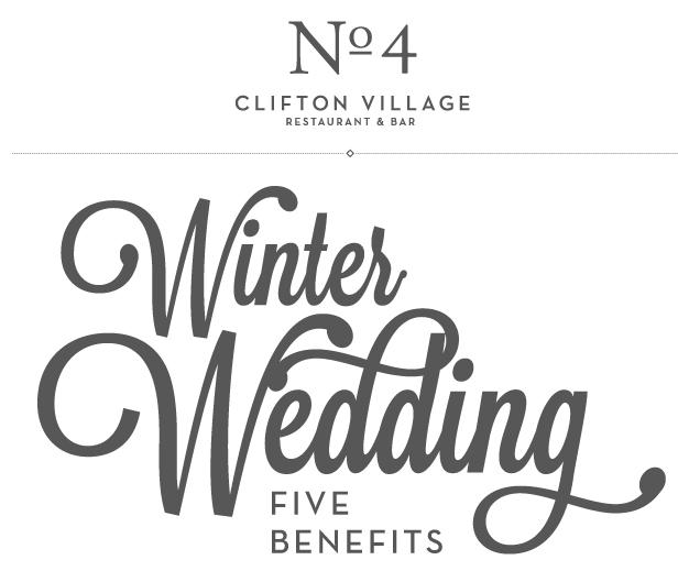 Winter Wedding Benefits No4 Clifton Village Wedding Reception Venue