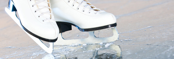 how to make an ice skating rink in summer